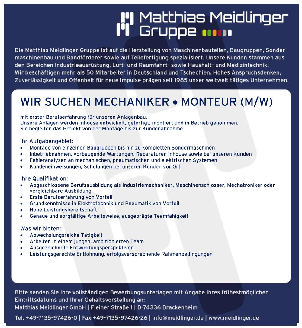 HOME - Matthias Meidlinger Group